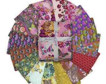 Love Always by Anna Maria 16 Fat Quarter Bundle for Free Spirit Fabric- 16 Fabrics Total, FB4FQAM.LOVE
