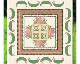 Carnation Gardens Quilt Pattern