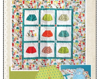 Baby Boxers Quilt Pattern - pdf downloadable