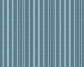 Bluebird by Edyta Sitar, Color - Blue Whale, Pattern - Cross Country, 1/2 yd, 100% Cotton by Andover Fabrics, A-9846-B1
