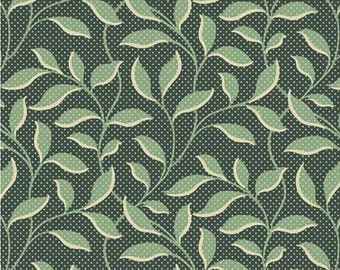 Evergreen - Vine Spruce (9177-G) by Edyta Sitar from Laundry Basket Quilts for Andover, sold by the half yard
