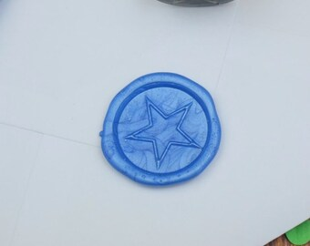 Star Wax Seal Stamp - wax seal - envelope seal - post crossing - pen pal - letter seal