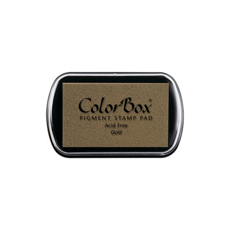 ColorBox Metallic Pigment Ink Pad-Gold