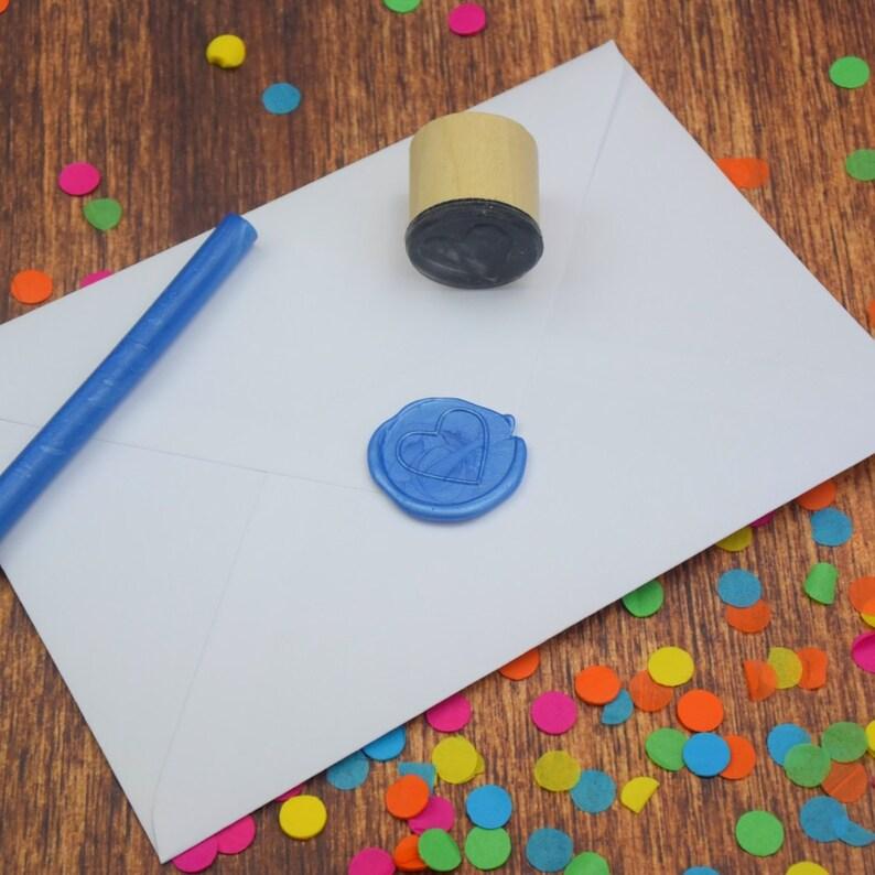 wedding seal Wax Seal Letter Seal Heart Wax Seal Stamp wax seal stamp envelope seal