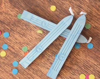 Powder Blue Sealing Wax - traditional sealing wax - light blue wax