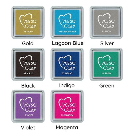Tsukineko Small-Size VersaColor Ultimate Pigment Inkpad Turquoise