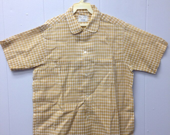 1950s Van Heusen Vantage button down with buttons on sleeves