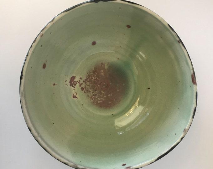 Hand thrown large bowl