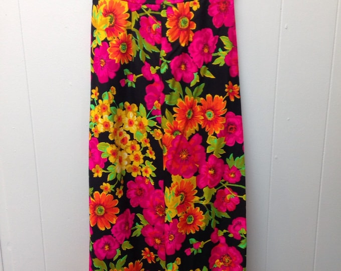 1950s Floral Palazzo Pants.