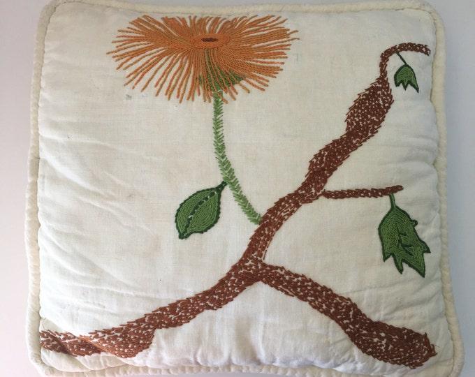1960's Handmade Pillow