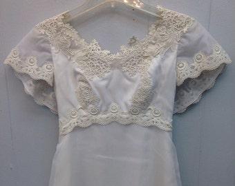 1970 Willam Cahill of California Wedding Dress
