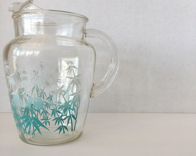 1960s bamboo pitcher