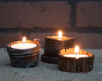 Tea Light Candle Holder- Set of 3