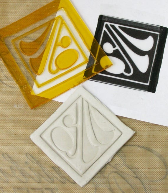 Complete PPP Stamp Making Kit Photopolymer Sheet Clay