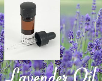 Lavender Oil for Clay - 1/8oz bottle - lavender oil - for craft use - metal clay
