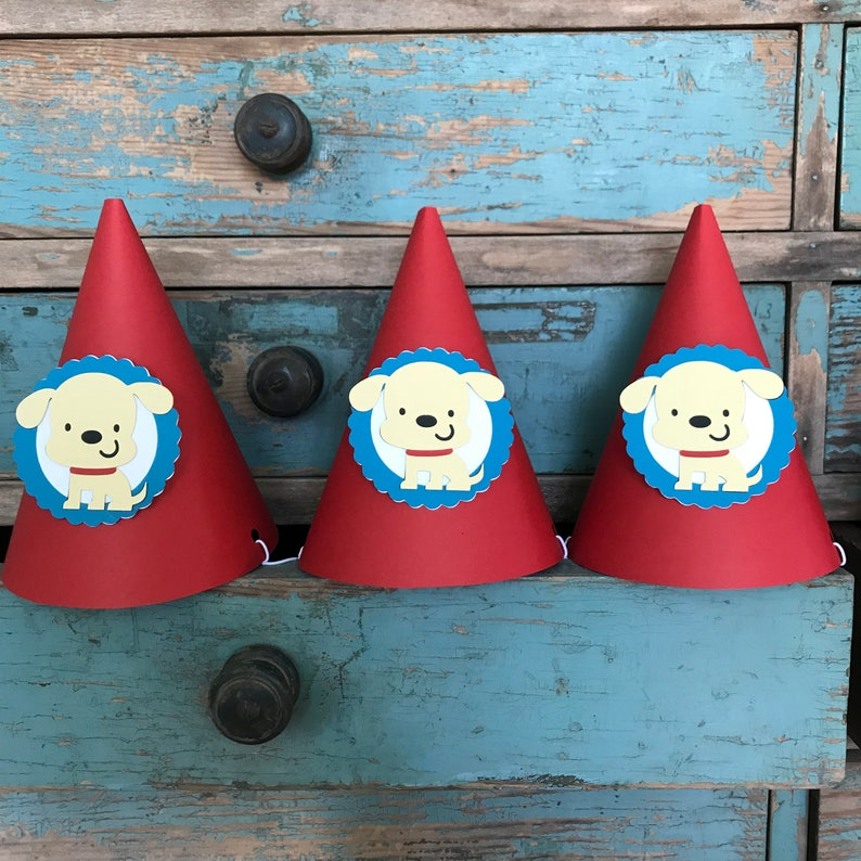 Dog Party Hats Set Of 6
