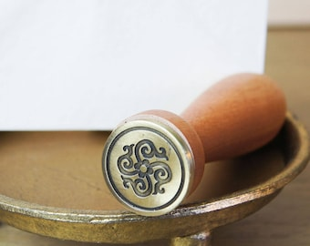 Renaissance Flower Wax Seal Stamp