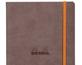 Rhodia Goalbook Chocolate - Dot Grid A5 Journal