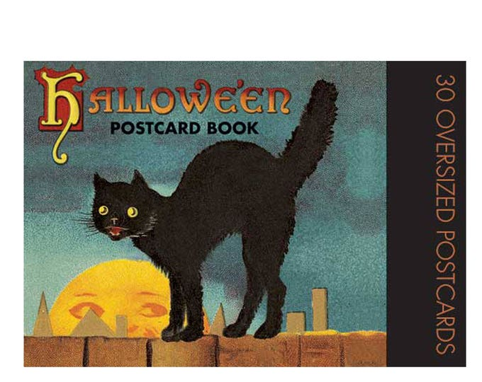 Featured listing image: Halloween Postcard Book - Vintage Postcards
