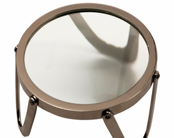 Desk Magnifier Loupe 4″ - Brass
