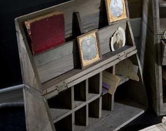 Folding Writing Box - Campaign Desk