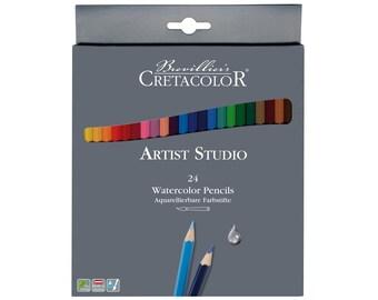 Cretacolor Artist Studio 24 Colored Pencil Set