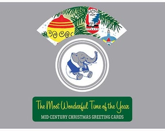 The Most Wonderful Time of the Year - Mid-Century Christmas Greeting Cards