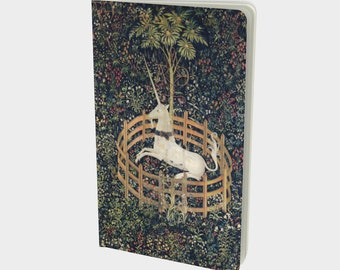 Unicorn Tapestry Notebook, Medium Sized, Dot Grid, Lined, Blank and Graph Journal Pages