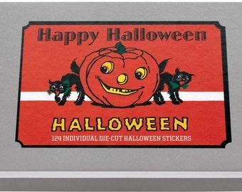 Happy Halloween Sticker Box