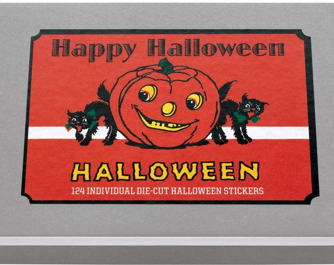 Featured listing image: Happy Halloween Sticker Box