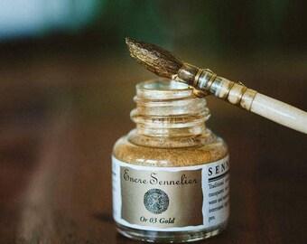 Sennelier Ink Bottle - Gold