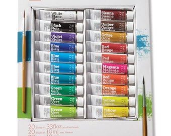 Savoir-Faire Opaque Watercolor Gouache - Set of 20
