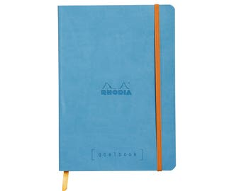 Rhodia Goalbook - Turquoise A5 - Dot Grid