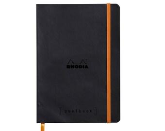 Rhodia Goalbook - Black A5 - Dot Grid