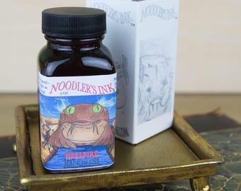 Noodler's Hellfire Fountain Pen Ink - 3oz Bottle