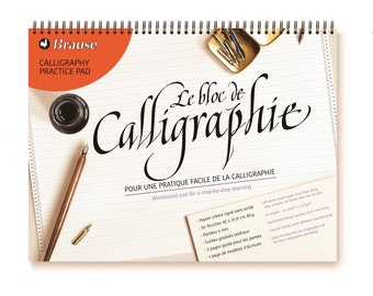 Calligraphy Practice Pad - Brause
