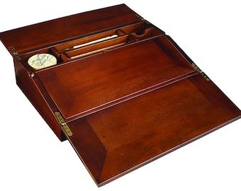 Campaign Lap Desk - Calligraphy Set