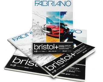 "Fabriano Bristol + Pad - 9"" x 12"" 145lbs"