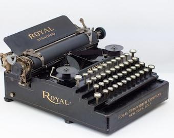 Rare Royal Standard No. 1 Typewriter - 1908 Works!