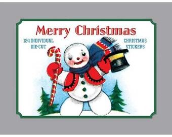 Merry Christmas  - Christmas Sticker Set