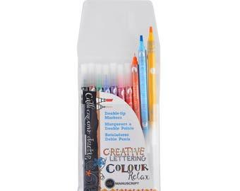 Callicreative Duo Tips - 10 Color Marker Set