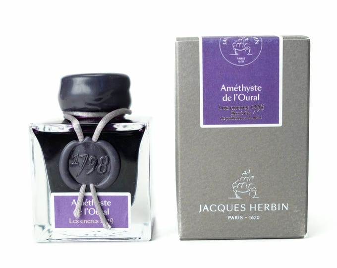 Featured listing image: Jacques Herbin 1798 Améthyste de L'Oural - Fountain Pen Ink