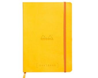 Rhodia Goalbook - Yellow A5 - Dot Grid