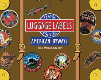 American Byways Luggage Labels