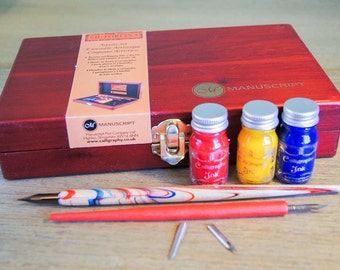 Artists Pen and Ink Drawing & Calligraphy Set