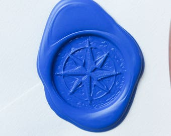All Natural Sealing Wax Sticks - Set of 4 in Royal Blue