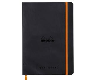 Rhodia Goalbook - Black A5 - Dot Grid