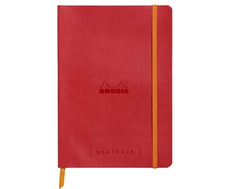 Rhodia Goalbook - Poppy A5 - Dot Grid