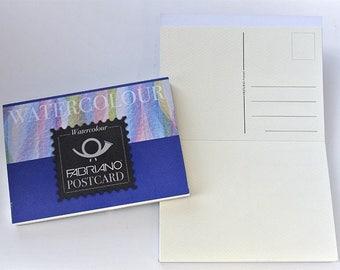 Fabriano Watercolour Postcard Pad - Cold Pressed 140lb