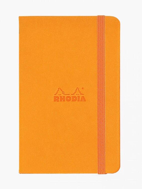 Rhodia Web pour modèle ordinateur portable - modèle pour de grille de point - Orange fe3620